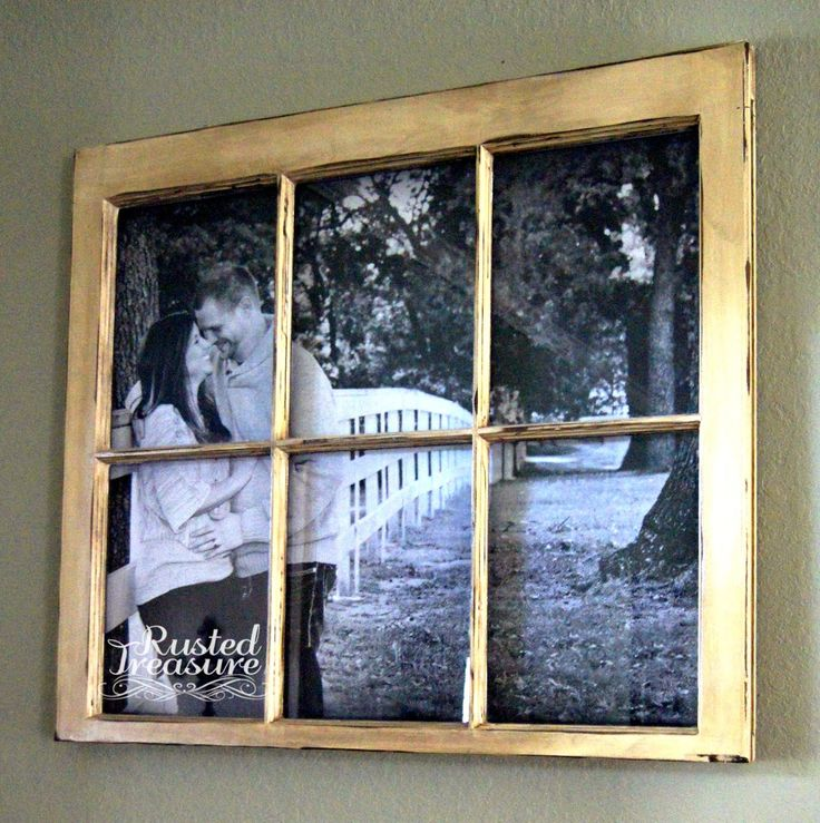 DIY Picture Window Frames