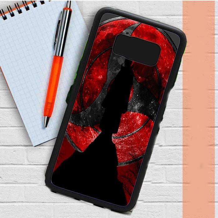 Uchiha Itachi Mangekyou Sharingan Samsung Galaxy S8 Plus Case Dewantary
