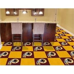 Washington Redskins Carpet Tiles Flooring