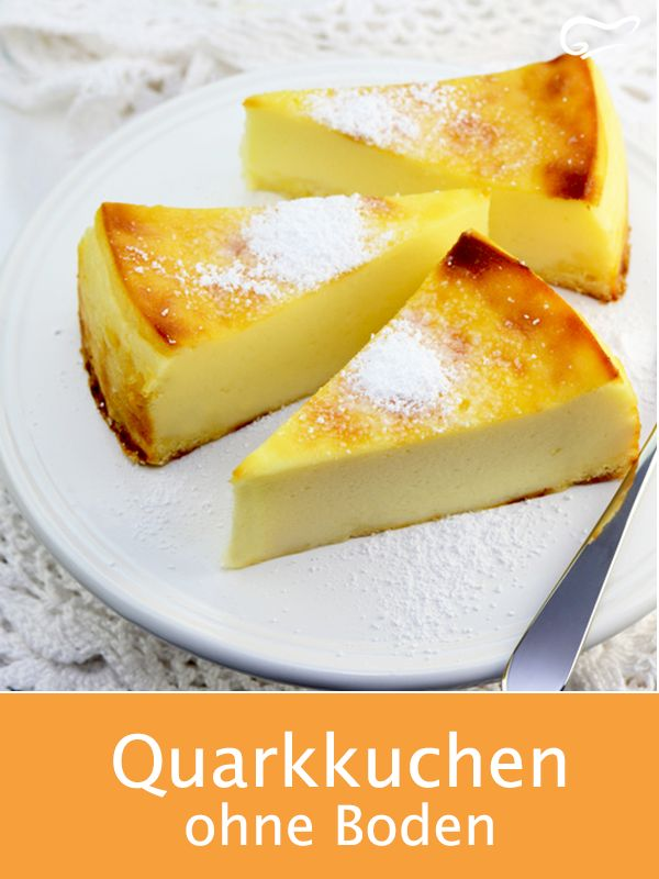 This bottomless quark cake is prepared in no time and tastes wonderfully light ….