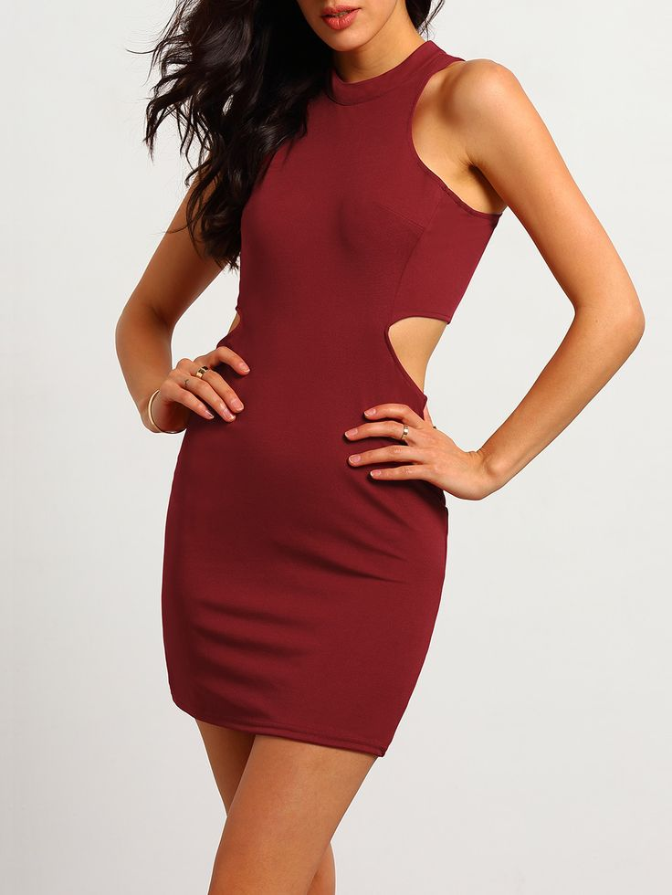 Shop Red Halter Open Back Bodycon Dress online. SheIn offers Red Halter Open Back Bodycon Dress & more to fit your fashionable needs.