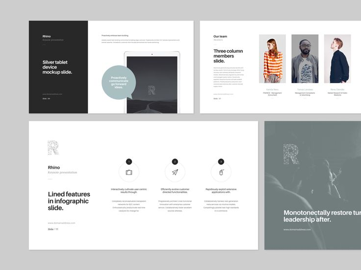 rhino keynote presentation + bonusgoashape on @creativemarket, Presentation templates