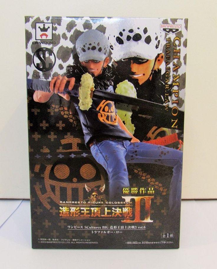 One Piece Trafalgar Law Figure Colosseum Scultures Big 3 Vol.6 Banpresto Japan