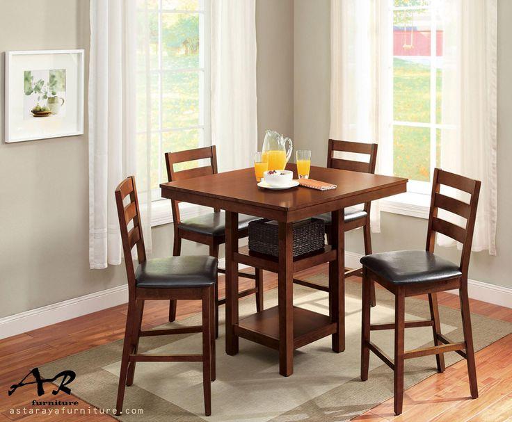 Set Meja Makan Minimalis Furniture 4 Kursi