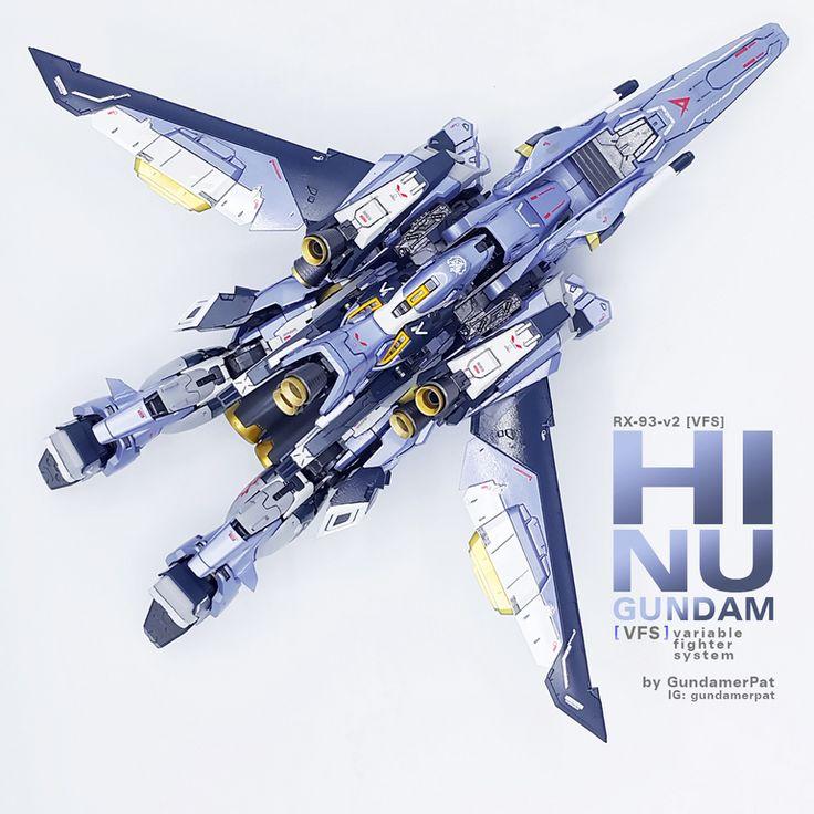 "Custom Build: MG 1/100 hi-nu Gundam Ver. Ka [VFS] ""Variable Fighter System"" - Gundam Kits Collection News and Reviews"