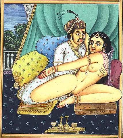 17. Old Kamasutra Painting