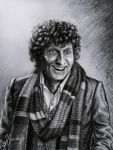 This is my drawing of the second Doctor from the british TV series Doctor Who as portrayed by Patrick Troughton. Medium: white paper (size A5) graphite pencil (2B) black water-color pencil + minor ...