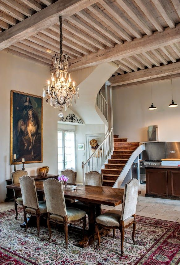 Cote De Texas Looking To Live In A French Chateau French