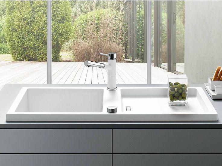 1 Becken Einbau  Spülbecken Aus Silgranit® BLANCO ADON XL 6 S By Blanco