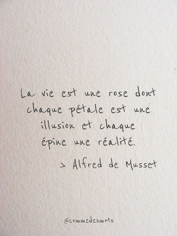 La Vie Est Une Rose Citation Belles Citations Proverbes Et Citations