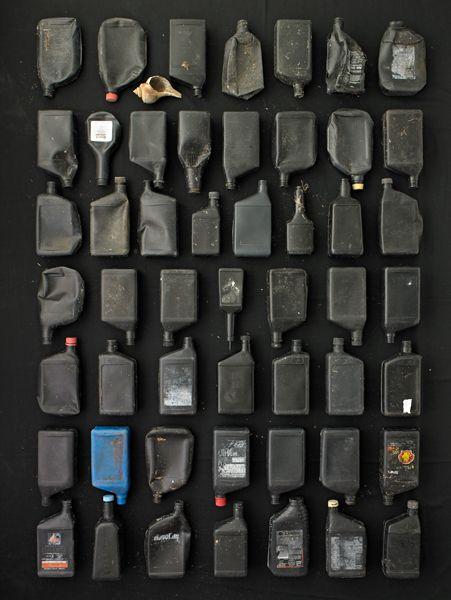 Barry Rosenthal - Black Oil Bottles / http://www.photobotanicus.com