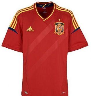 Spain Home Shirt 2012-13