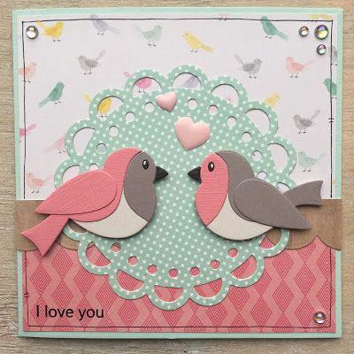 LindaCrea: Alles is Liefde #16 - Love Birds