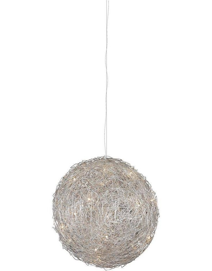 Bol hanglamp ijzerdraad 100cm diameter