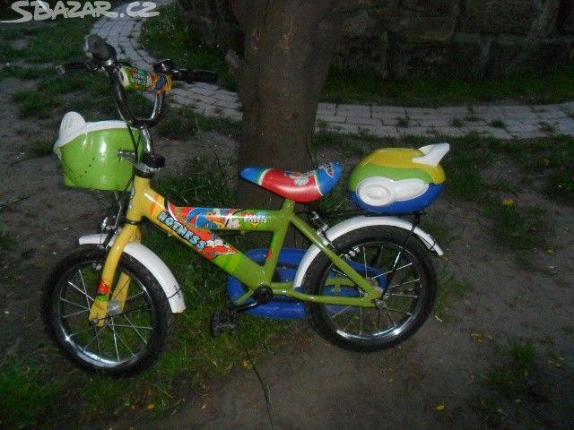 Prodám dětské kolo na 4-6 let ,koukněte - obrázek číslo 1