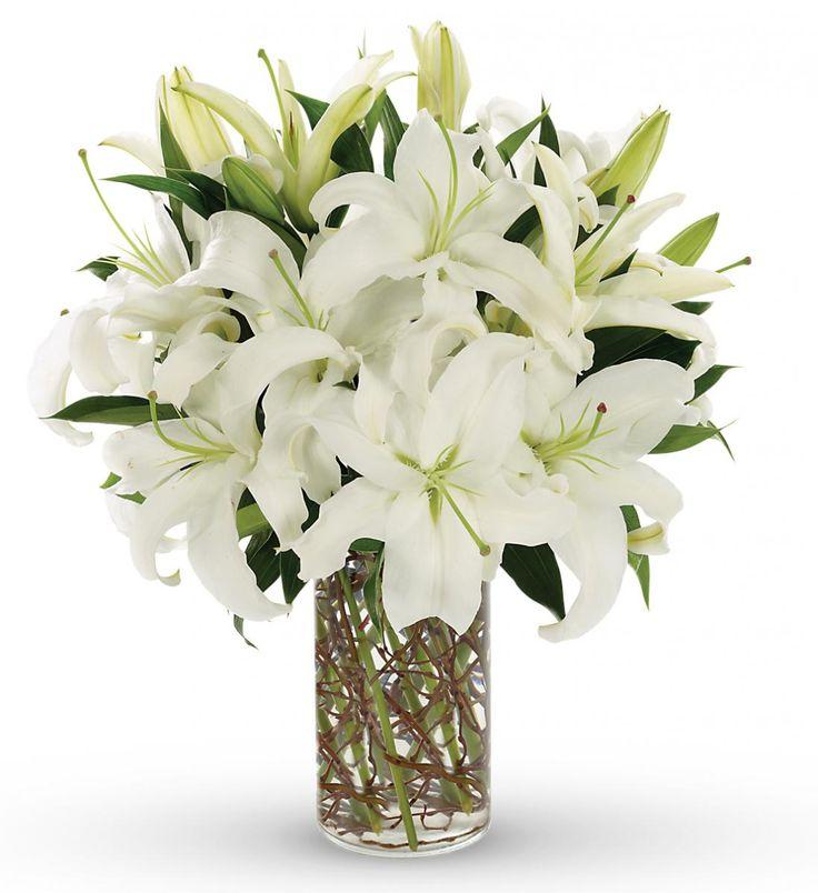 Flower arrangements with lilies valentine birmingham