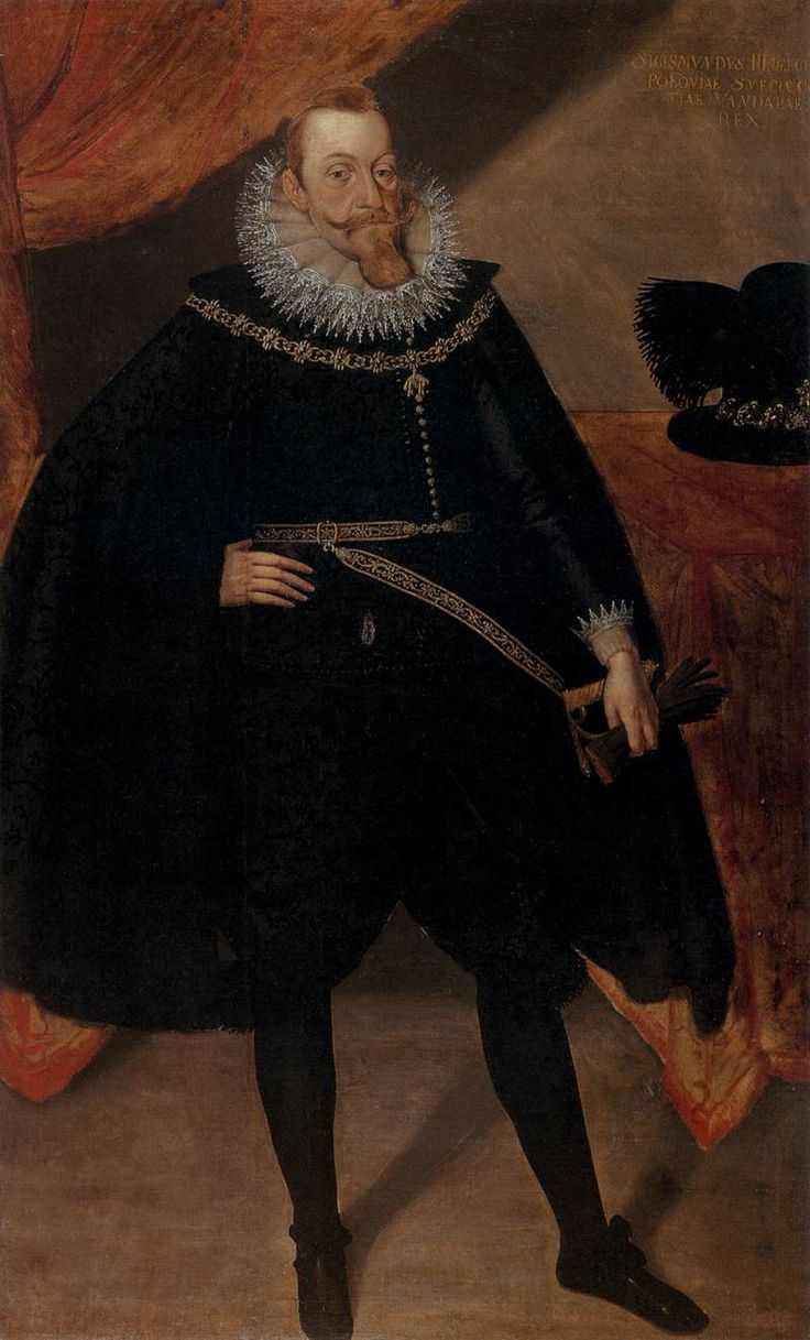 Portrait of Sigismund III Vasa, King of Poland, 1585