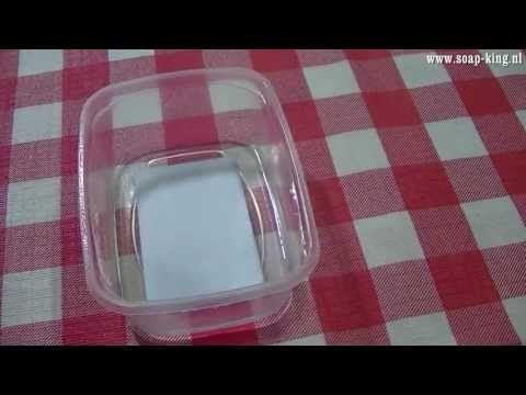 Gietzeep kopen: Info / filmpjes zeepjes / zeepdecoratie maken