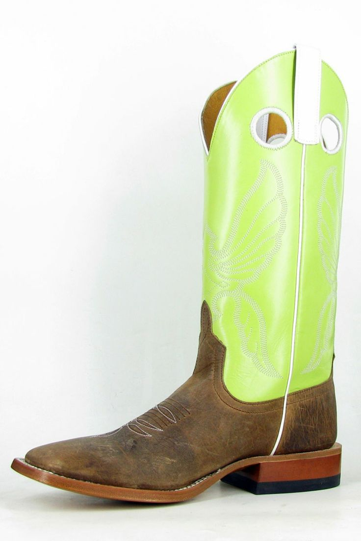 Affordable Anderson Bean Toast Bison Citrus Cowboy Boots For Men