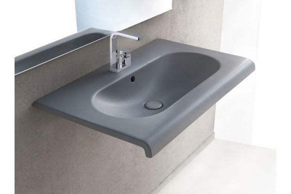 Lavabi Sospesi Cielo Fluid Lavabo Sospeso Flls100 Wash Basin