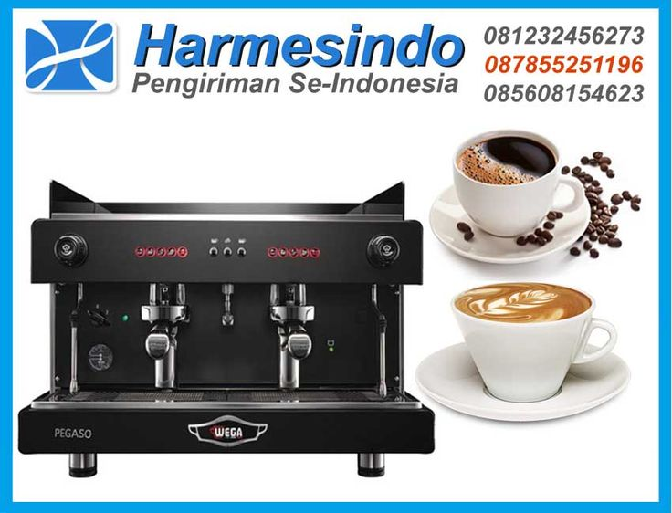 Mesin Pembuat Kopi WEGA Pegaso Opaque EVD-2 Coffee Maker