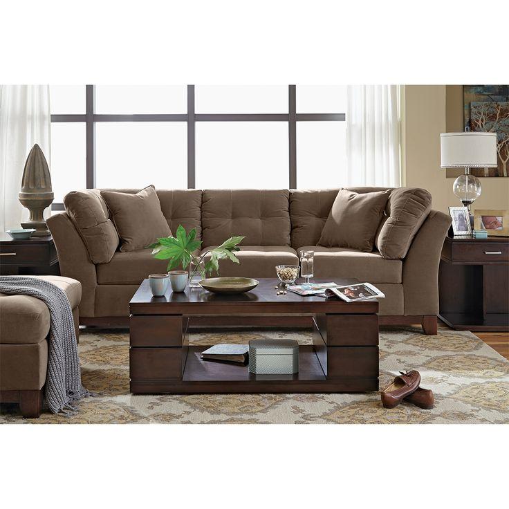 Captivating Living Room Orange Accents