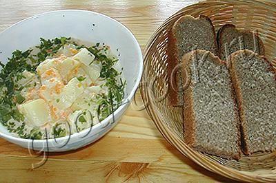 тушеный картофель с сыром