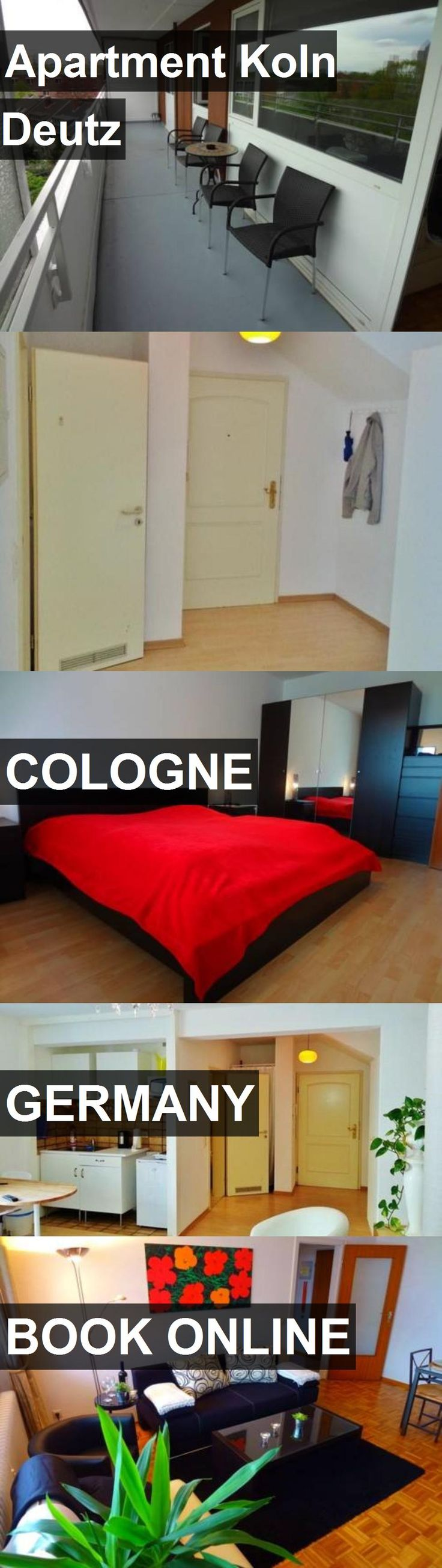 Apartment Koln Deutz in Cologne, Germany. For more information, photos, reviews and best prices please follow the link. #Germany #Cologne #travel #vacation #apartment