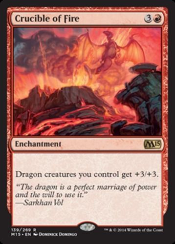 Crucible-of-Fire-x4-Magic-the-Gathering-4x-Magic-2015-mtg-card-lot-rare-red-NM