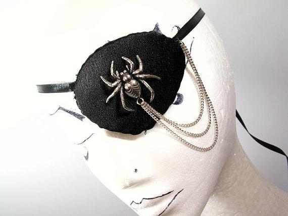 Eyepatch Augenklappe Spider