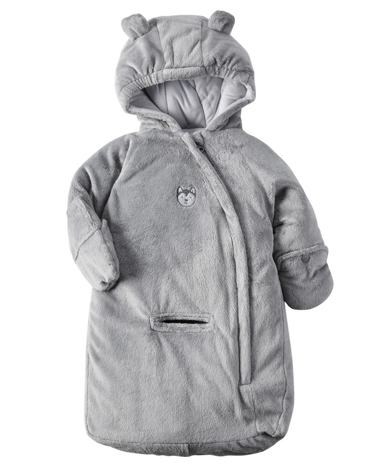 Baby Boy Carter's Hooded Bunting from Carters.com. Shop clothing & accessories from a trusted name in kids, toddlers, and baby clothes.
