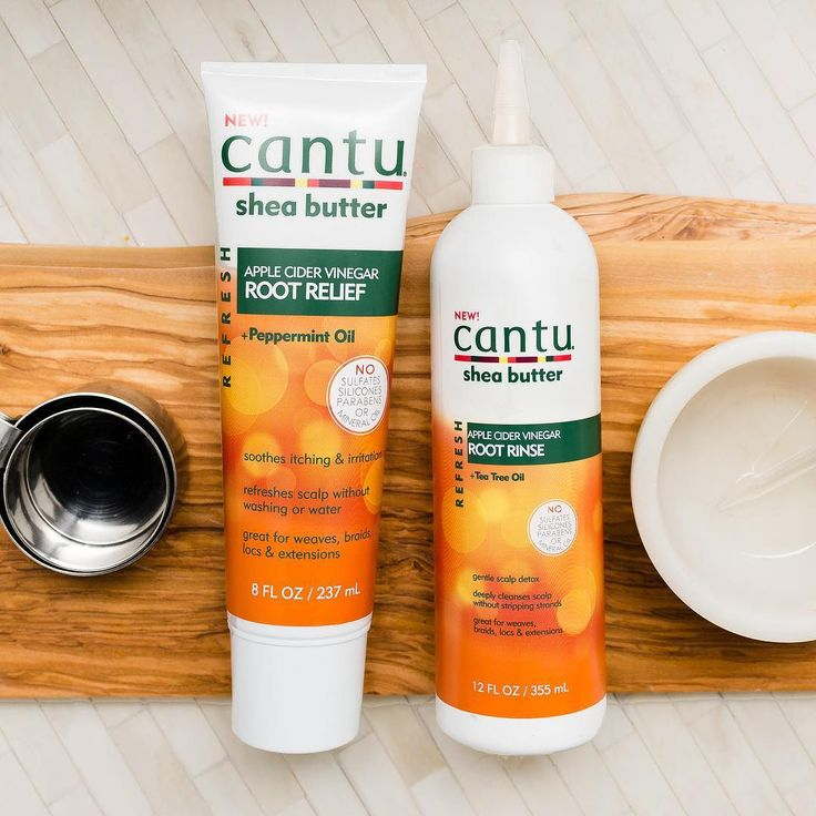 """Cantu Beauty (@cantubeauty) on Instagram: """"Have you tried our new Refresh Collection yet? Made with Apple Cider Vinegar, our Root Rinse helps…"""""""