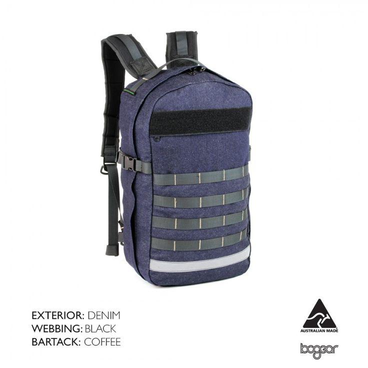Denim BullPup 18L Backpack
