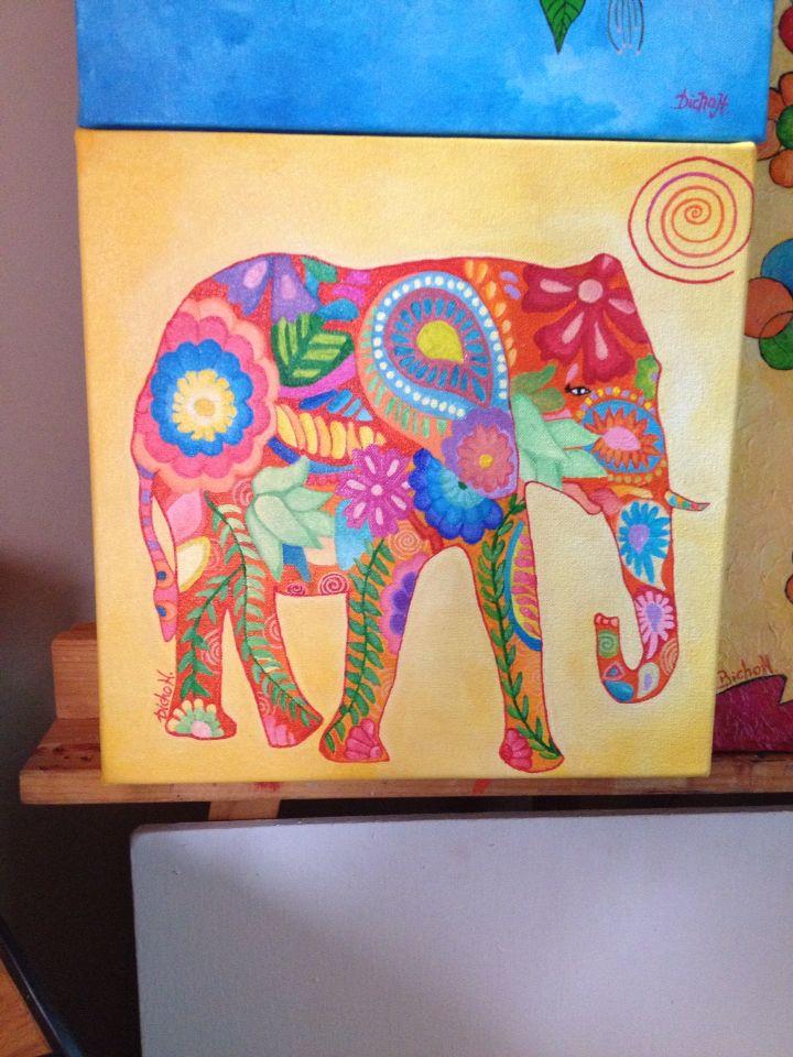 Elefante psicodélico
