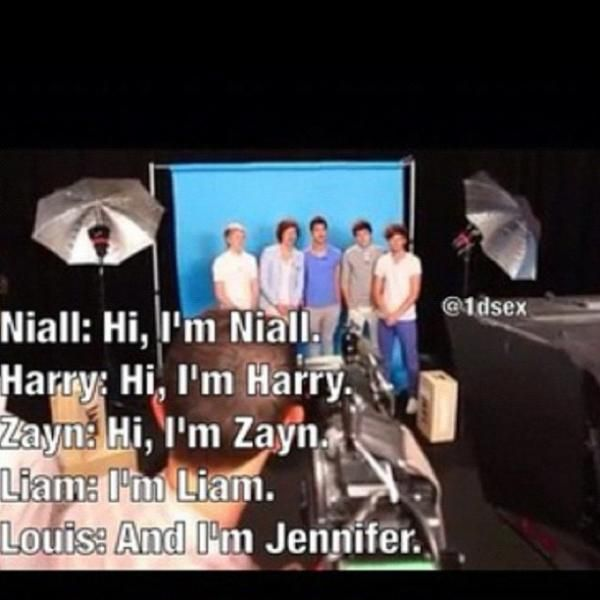 Day 5: Favorite 1D interview- Urhm.  Does this count as in interview? I think it does. It's this one. This one's my favorite. Jennifer would agree with me. -K