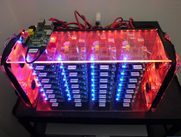 Lust!   Build your own supercomputer out of Raspberry Pi boards Summary: Who says you need a few million bucks to build a supercomputer? Joshua Kiepert put together a Linux-powered Beowulf cluster with Raspberry Pi computers for less than $2,000. Steven J. Vaughan-Nichols By Steven J. Vaughan-Nichols for Linux and Open Source |	 May 23, 2013