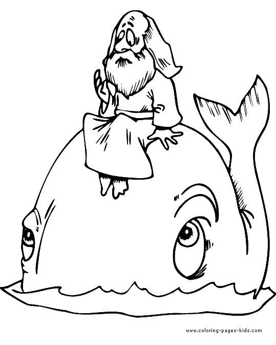 jonah and the whale color page bible story color page coloring pages for kids religious coloring pages printable coloring pages color pages kids