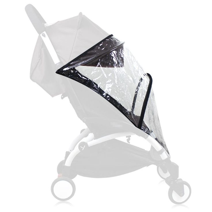 Generic Rain Cover, Weather Shield, Plastic Clear Netting for Babyzen YOYO Stroller