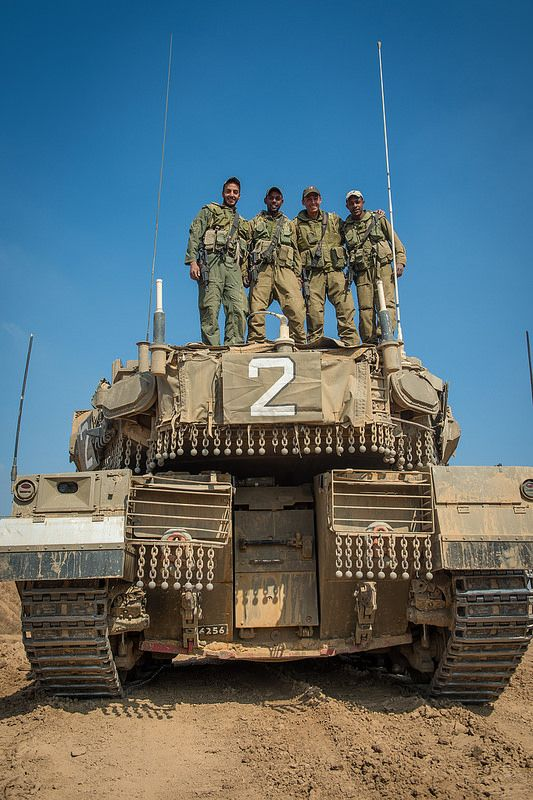"""Merkava IV"" Tank's Team"