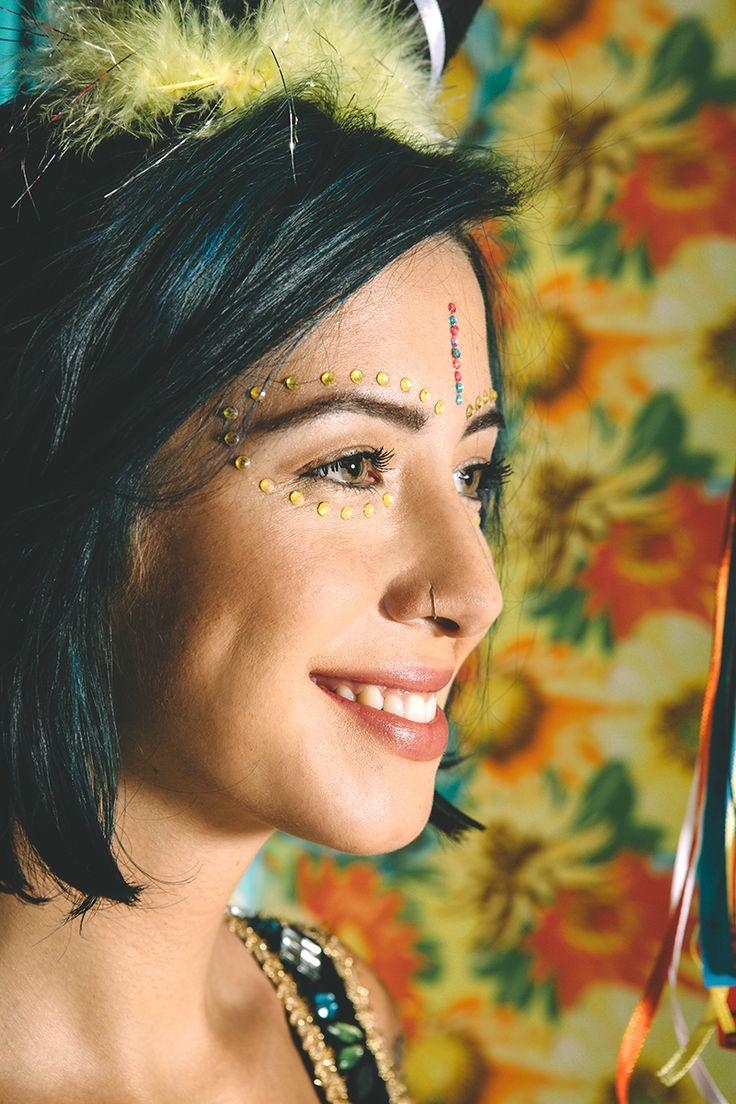 Inspiração de Maquiagem para o carnaval