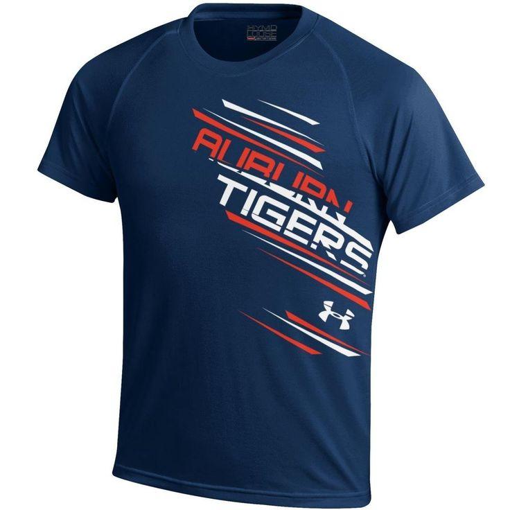 Under Armour Boys NCAA Auburn Tigers Youth Tech Tee Shirt , Navy , XLarge  #UnderArmour #AuburnTigers