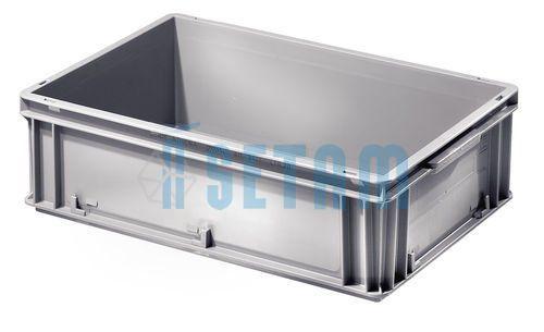 Caisse plastique de rangement coloris gris 30 litres: Price:18.6 Bac plastique gerbable de 30 litres. Dimensions extérieures : H. 17 x L.…
