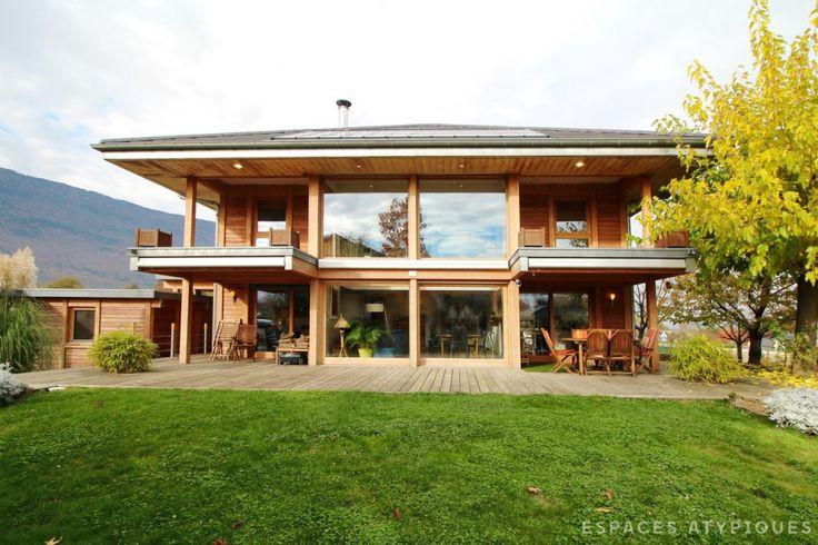 Annecy : Maison ossature bois sur les hauteurs de Chambéry.