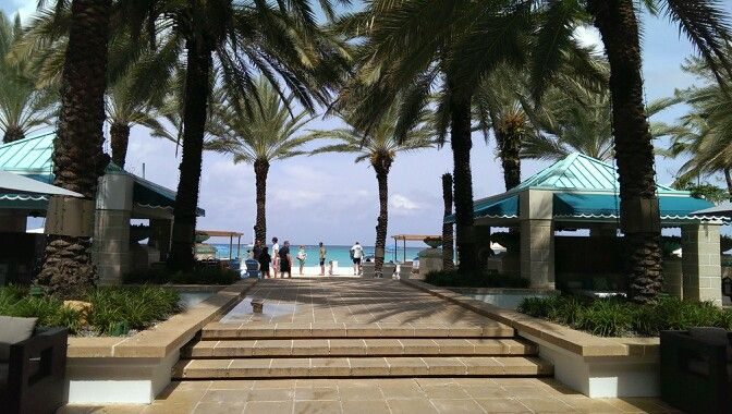 Westin Seven Mile Resort And Spa Walkway Tobthe Beach Grand Cayman Things To Do