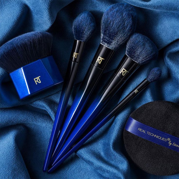 - Real Techniques has made a name for itself thanks to its high-quality brushes with prices that won't burn a hole in your wallet. The cult-favorite brand has expanded into several luxe-like collections, but its newest range currently has everyone talking. The PowderBleu brush collection will feature soft blue bristles inspired by that of a blue squirrel. (Yes, they're real. Yes, they're adorable.)