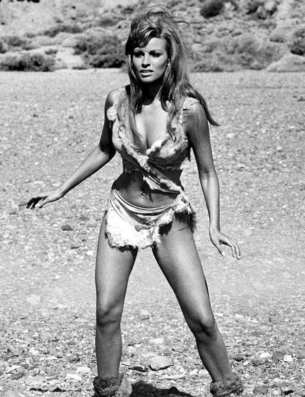 My First Pinup Ever Raquel Welch - One Million Years BC