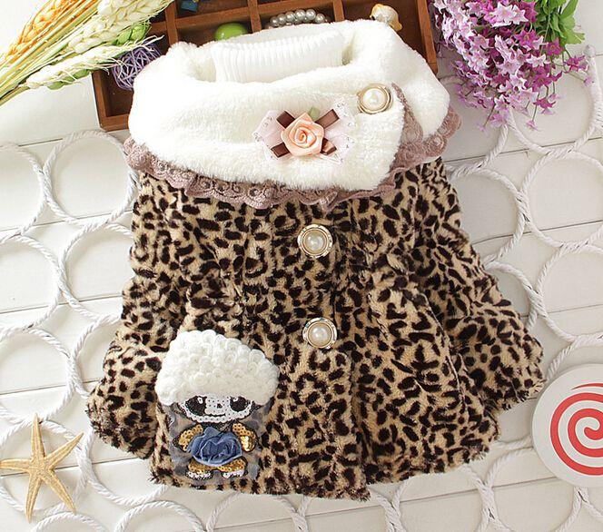 Девочки-младенцы дети в зима одежда цветы дети верхняя одежда пальто девочки куртки одежда для младенцев маленькие девочки зима пальто