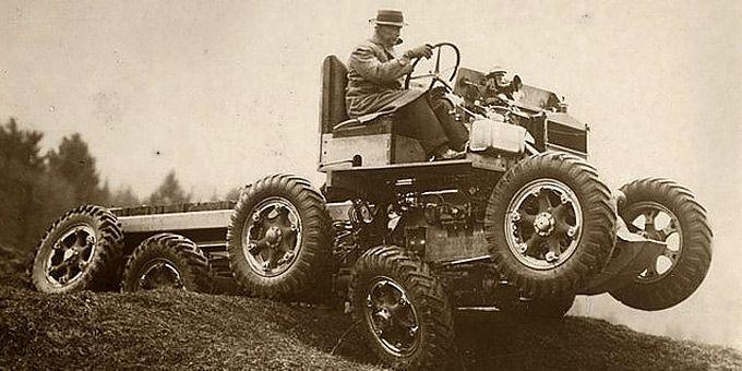 11 «πρωτοποριακές» εφευρέσεις του παρελθόντος: Παντός εδάφους όχημα