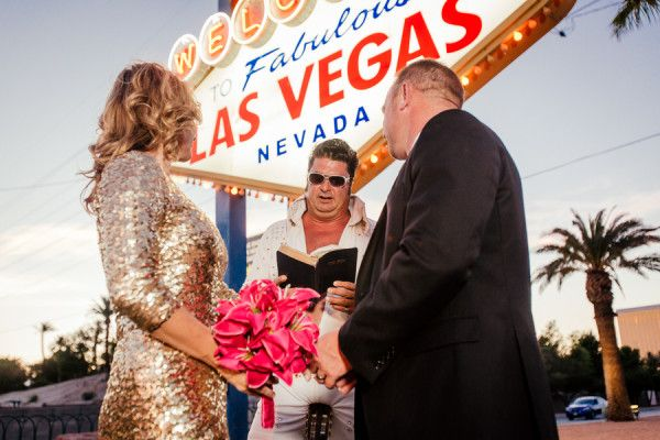 Sexy Vegas Vow Renewal (with Elvis!) From POPography