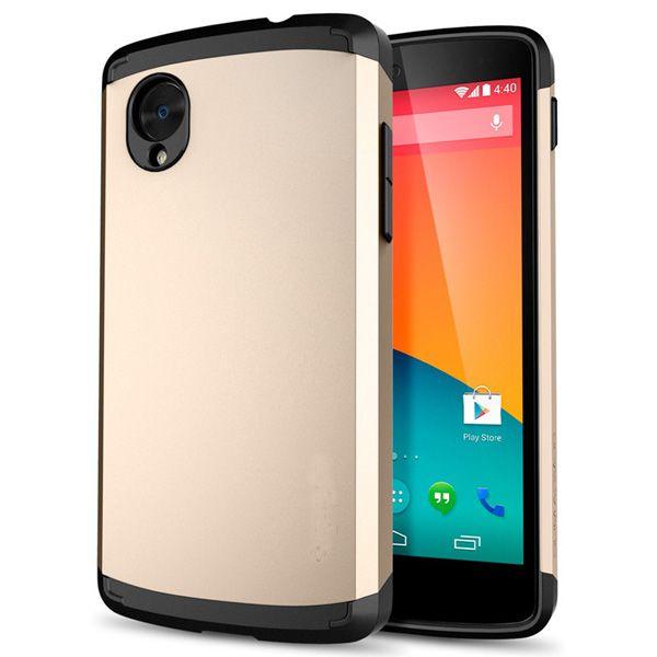 Θήκη Πλαστική Armor Case OEM Χρυσό (Google Nexus 5) - myThiki.gr - Θήκες Κινητών-Αξεσουάρ για Smartphones και Tablets - Χρώμα χρυσό